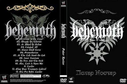Behemoth - Pater Noster (2016) (DVD)