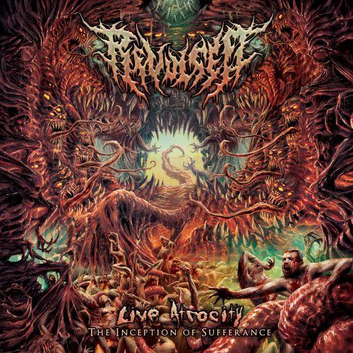 Revulsed - Live Atrocity - The Inception Of Sufferance [Live] (2017)