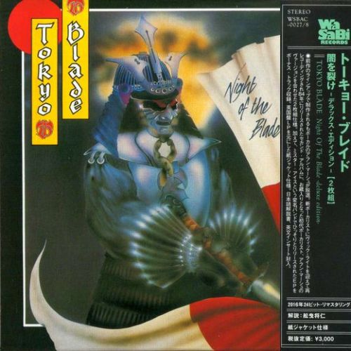 Tokyo Blade - Night Of The Blade [Deluxe Edition Japan mini-LP remastered] (2016)