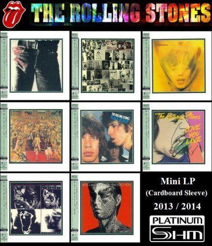 The Rolling Stones - 8 Albums Mini LP Platinum SHM-CD (2013-2014)