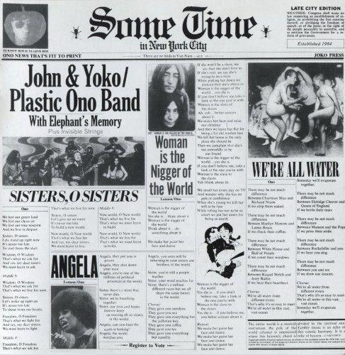 John Lennon - Sometime In New York City [Remastered 2005] (1972)