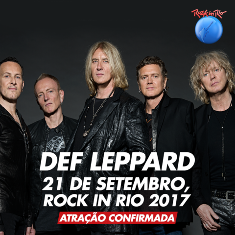 Def Leppard – Rock in Rio (2017) (HD 1080p)