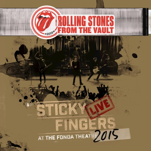 The Rolling Stones - Sticky Fingers Live At The Fonda Theatre (2017) (DVD)