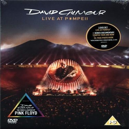 David Gilmour – Live At Pompeii (2017) (2xDVD9)