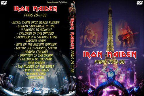 Iron Maiden - Maiden Paris '86 (2 DVD) (1986)