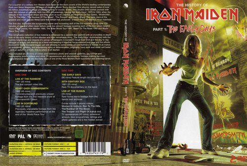 Iron Maiden - The History Of Iron Maiden - Pt. 1 The Early Days (DVD) (2004)