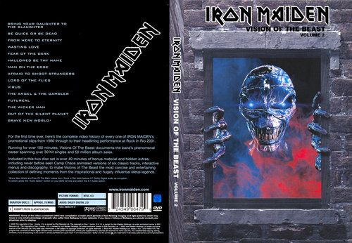Iron Maiden - Visions Of The Beast (2003) (2XDVD9)
