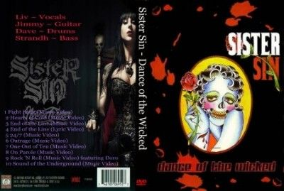 Sister Sin - Dance of the Wicked (2013) (Bonus DVD)
