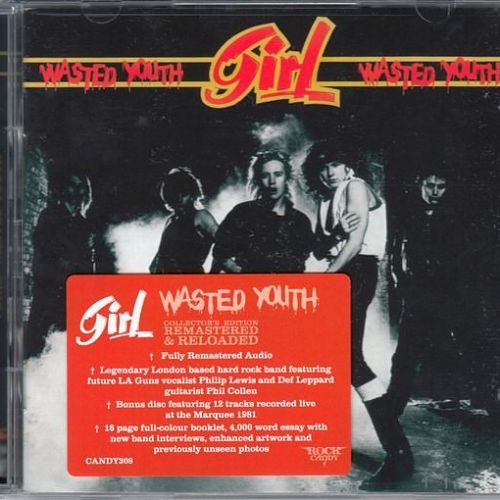 Girl - Wasted Youth [Rock Candy remastered 2CD] (2016)