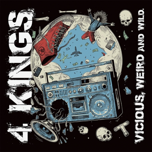 4 Kings - Vicious, Weird and Wild (2017)