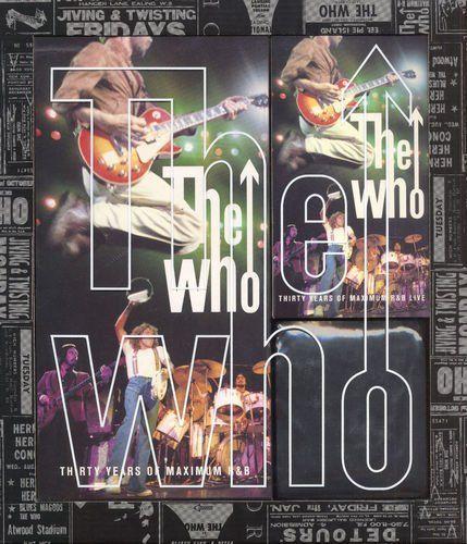 The Who - Thirty Years of Maximum R&B [4CD Remastered Box Set] (1994)