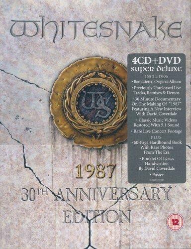 Whitesnake - Whitesnake (1987) [2017, 30th Anniversary Super Deluxe Edition DVD)