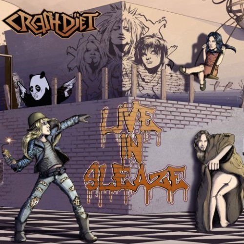 Crashdiet - Live In Sleaze [Limited Edition] (2017)