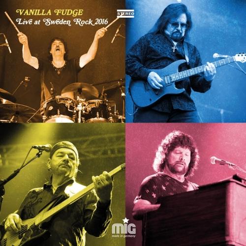 Vanilla Fudge - Live at Sweden Rock 2016 (2017)