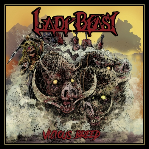 Lady Beast - Vicious Breed (2017)