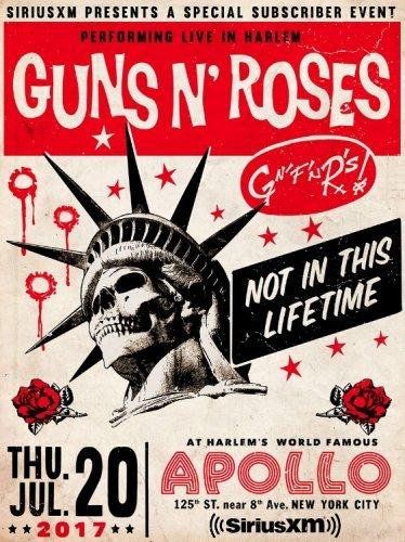 Guns N' Roses - 2017-07-20 at Apollo Theater, New York, NY (2017)