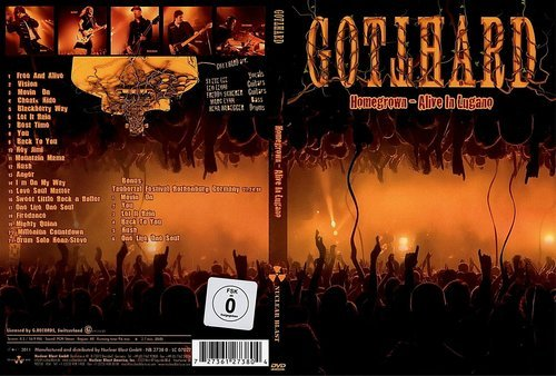 Gotthard - Homegrown - Alive In Lugano (2011) (DVD5)