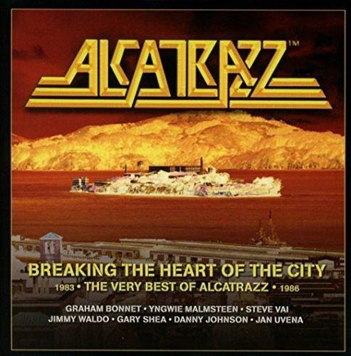 Alcatrazz – Breaking the Heart of the City: The Best of Alcatrazz (2017, 3 CD)