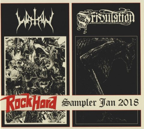 Watain / Tribulation - Split (Rock Hard Promo CD) (2017)