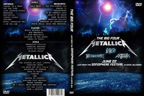 The Big 4 - Anthrax, Megadeth, Slayer & Metallica - Sonisphere Festival (2010) (HDSatRip)