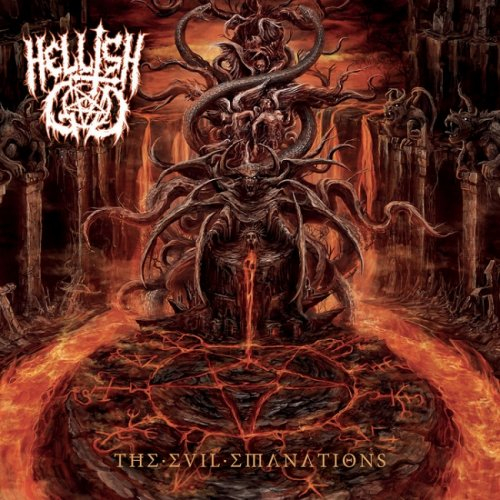 Hellish God - The Evil Emanations (2018)