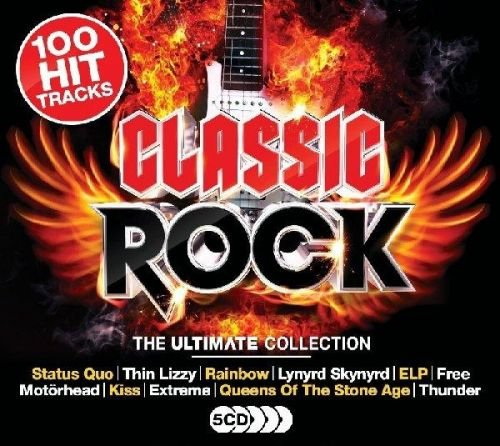 Various Artists – The Ultimate Collection: Classic Rock (5CD Box Set) (2017)