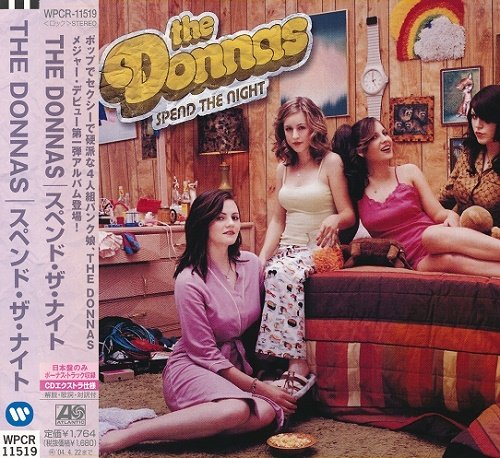 The Donnas - Spend The Night (Japan Edition) (2003)