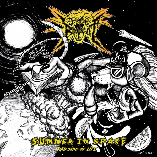 Rodent - Summer in Space (Rad Side of Life) (2018)