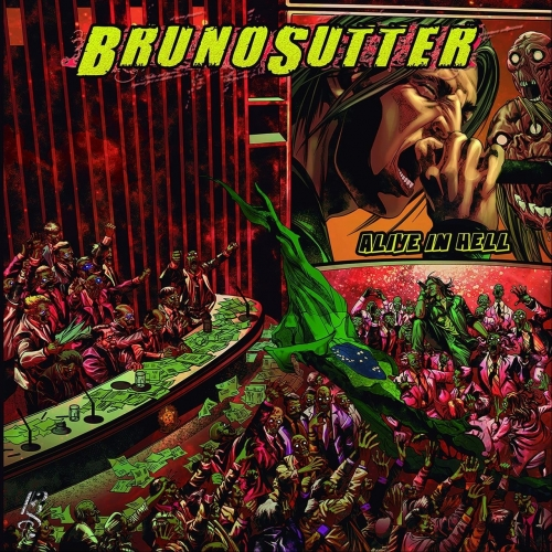Bruno Sutter - Alive in Hell (2018)