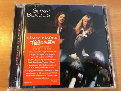 Shaw Blades – Hallucination (Rock Candy Remastered 2018)
