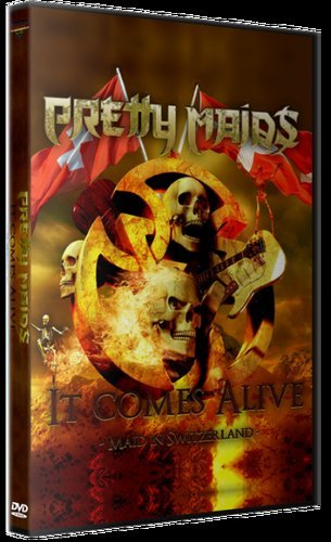 Pretty Maids - ItComes Alive - Maid In Switzerland 2012/2018) (DVD9)