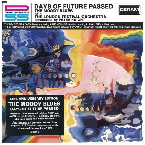 The Moody Blues - Days Of Future Passed (50th Anniversary Deluxe Edition] (1967/2017)