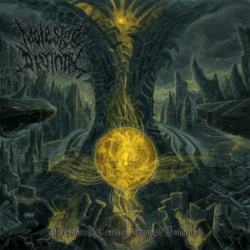 Molested Divinity - Desolated Realms Through Iniquity (2018)