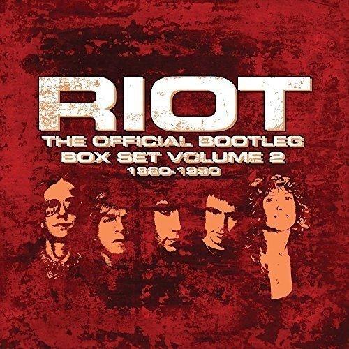 Riot - Official Bootleg 1980-1990 Vol 2 (Import, Box Set 2017)