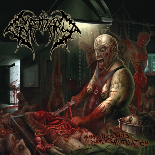 Gortuary - Manic Thoughts Of Perverse Mutilation (Reissue) (2018)