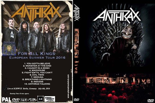 Anthrax - Berlin (Live 2016) (HD 720p)