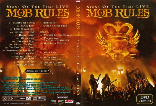 Mob Rules - Signs Of The Time (2005) (DVD9)