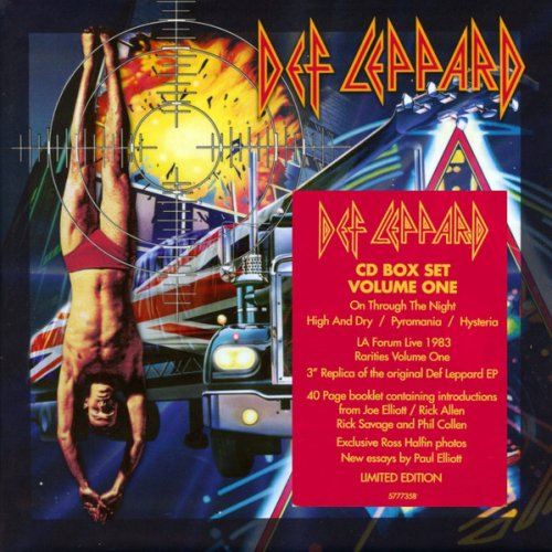 Def Leppard - The CD Collection Volume One (7CD Box Set, Remastered 2018)