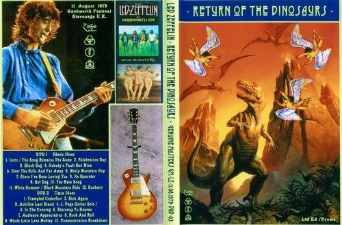 Led Zeppelin - Return of the Dinosaurs (1979) (DVDRip)