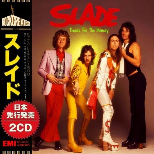 Slade - Thanks For The Memory (2018) (Compilation)