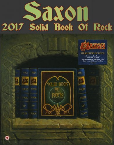 Saxon - Solid Book of Rock [Deluxe Boxset] (2017) (+DVD5)