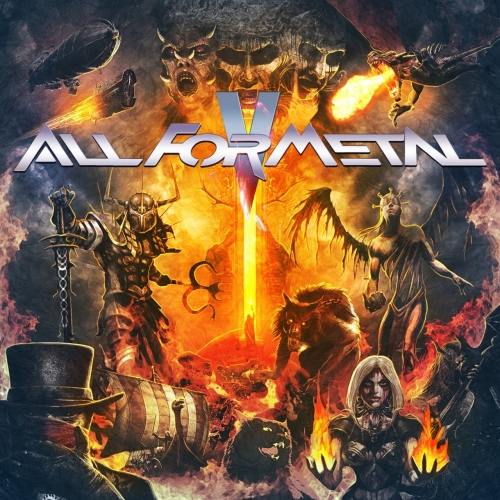 Various Artists - All for Metal, Vol. 5 (2018) (DVD9)
