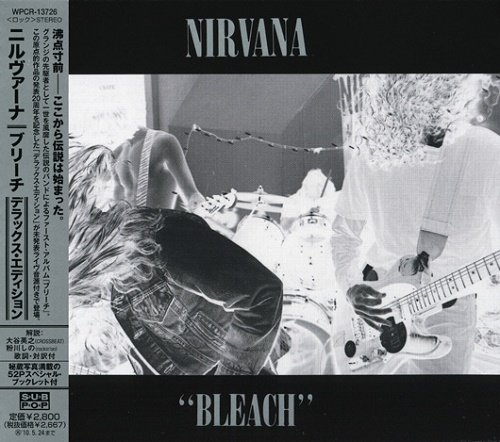 Nirvana - Bleach (Japan Limited Edition) (2009)