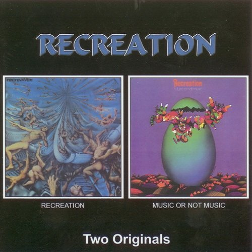 Recreation - Recreation (1971) Music Or Not Music (1972)