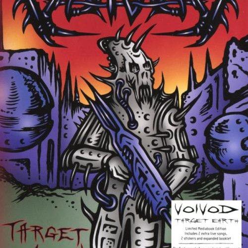 Voivod - Таrgеt Еаrth [2СD] (2013)