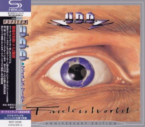 U.D.O. - Fасеlеss Wоrld [Jараnеsе Еditiоn] (1990) [2018]