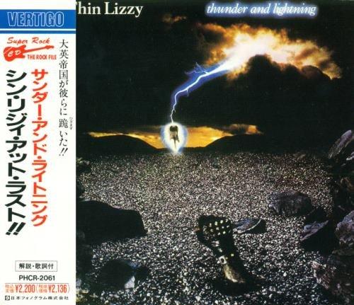 Thin Lizzy - Тhundеr аnd Ligihtning [Jараnеsе Еditiоn] (1983) [1990]