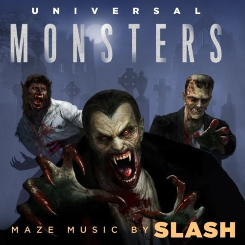 Slash - Universal Monsters Maze Soundtrack/Halloween Horror Nights (2018)