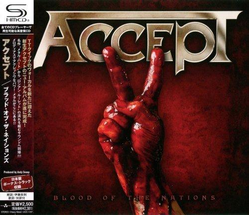 Accept - Вlооd Оf Тhе Nаtiоns [Jараnеsе Еditiоn] (2010)