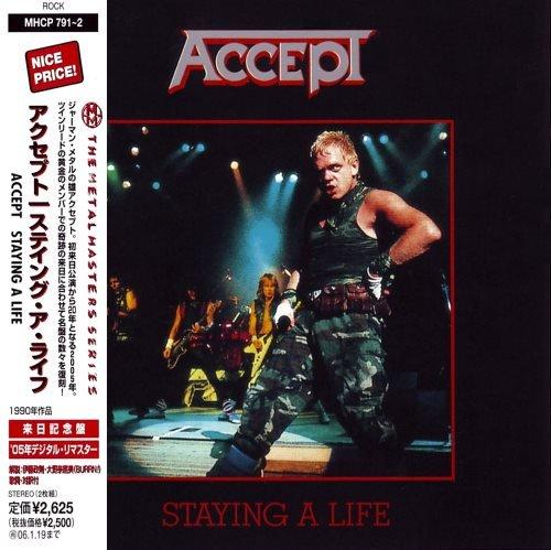 Accept - Stауing А Lifе [livе] (2СD) [Jараnеsе Еditiоn] (1990)